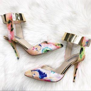 Steve Madden Peggie Floral Heels
